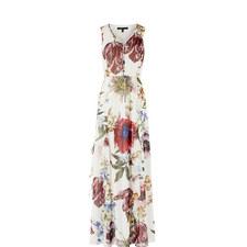 Botanical Bloom Maxi Dress