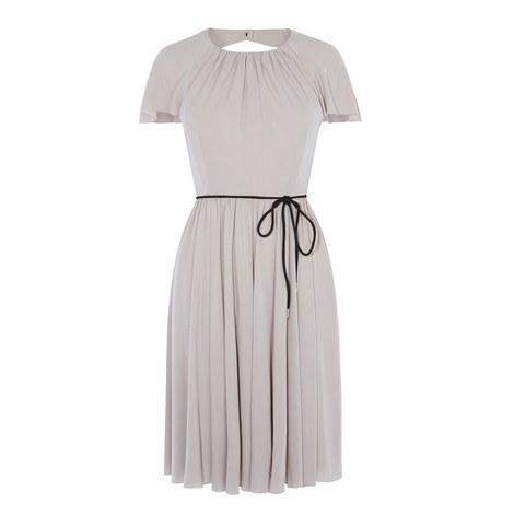 Soft Pleat Jersey Dress, ${color}
