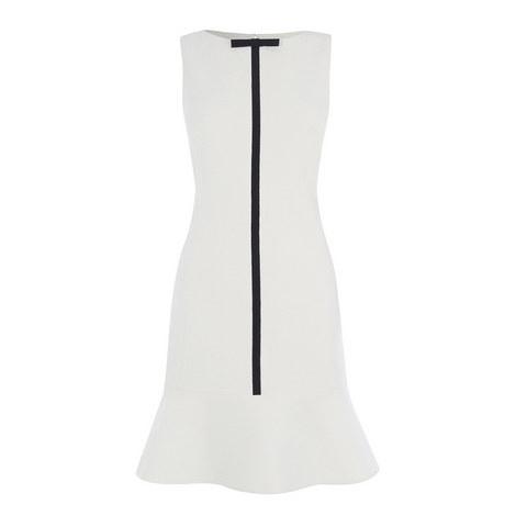 Textured Appliqué Dress, ${color}