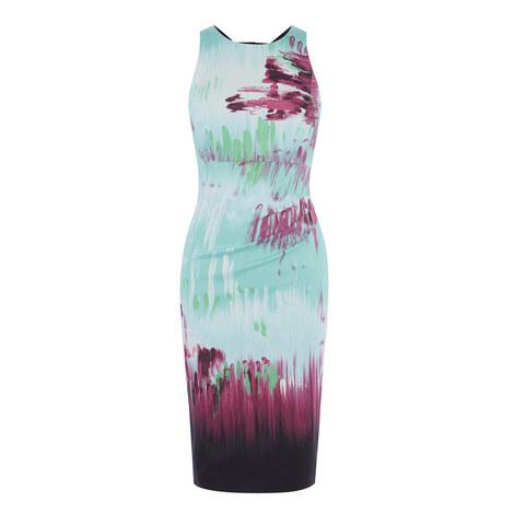 Brushstroke Bodycon Dress, ${color}