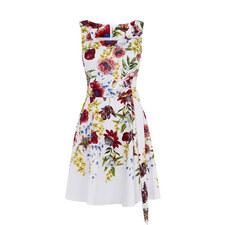 Botanical Bloom A-Line Dress