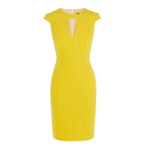 Scuba Bodycon Dress, ${color}
