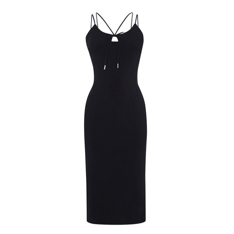 Jersey Bodycon Dress, ${color}