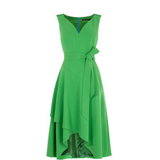 Sweetheart Draped Day Dress