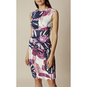 Gathered Bodycon Dress, ${color}