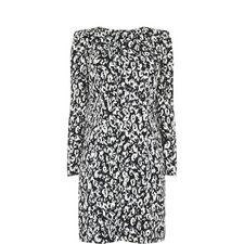 Leopard Print Shift Dress