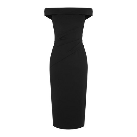 Bardot Pencil Dress, ${color}