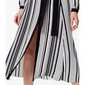 Graphic Stripe Midi Dress, ${color}