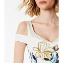 Cold-Shoulder Dress, ${color}
