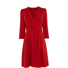 Wrap Waist Dress