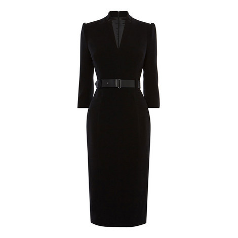 Minimum Metal Work Tailored Dress, ${color}