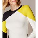Graphic Colour Block Dress, ${color}