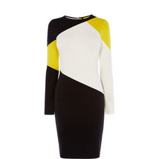 Graphic Colour Block Dress