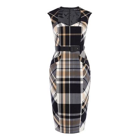 Tartan Check Forever Dress, ${color}