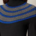 Circle Yoke Sweater Dress, ${color}