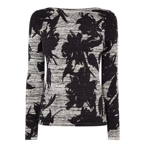 Floral Knit Top, ${color}