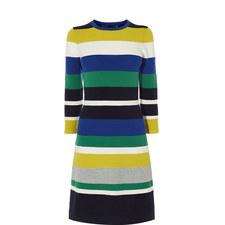 Ripple Stitch Knit Dress