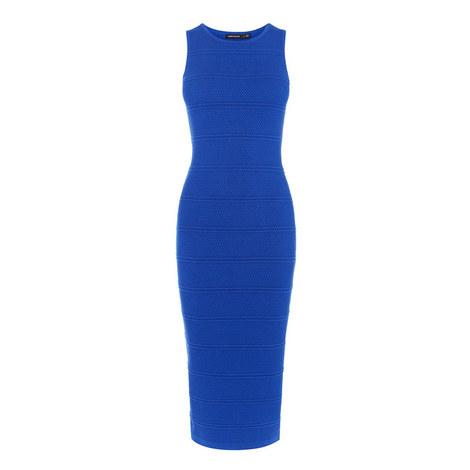 Stitch Stripe Rib Dress, ${color}