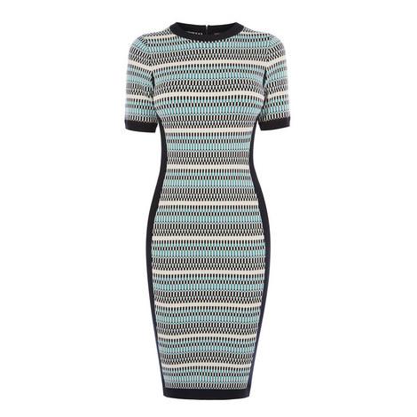Micro Texture Knit Dress, ${color}