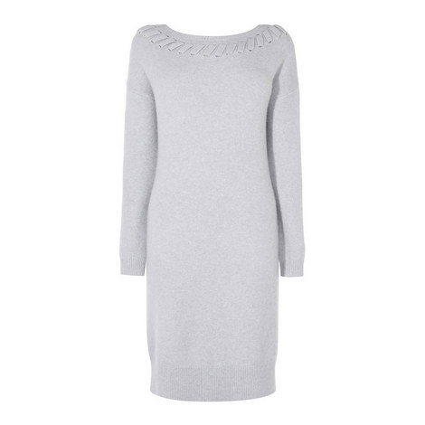 Whipstitch Knit Dress, ${color}