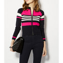 Block Stripe Zip-Through Knit, ${color}