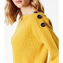 Jumbo Button Jumper, ${color}