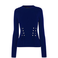 Corset-Effect Sweater