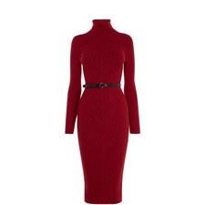 Ribbed Bodycon Knit Dress