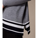 Roll Neck Relaxed Jumper, ${color}