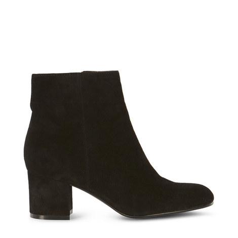 Suede Block Heel Boots, ${color}