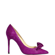 Frill Court Shoes