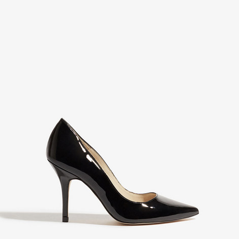 Patent Leather Court Heels, ${color}