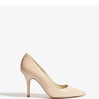Patent Leather Court Heels