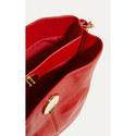 Slouchy Leather Shoulder Bag, ${color}