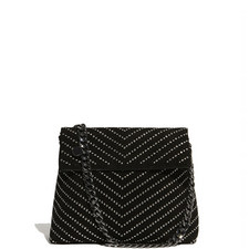 Regent Chevron Studded Bag