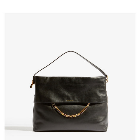 Chain Leather Bag, ${color}