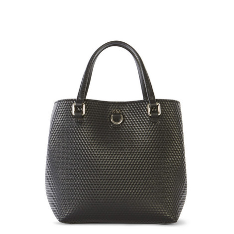 Honeycomb Texture Tote Bag, ${color}