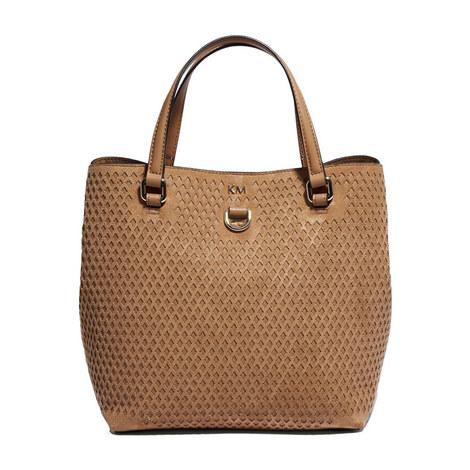 Diamond Cut Mini Tote Bag, ${color}