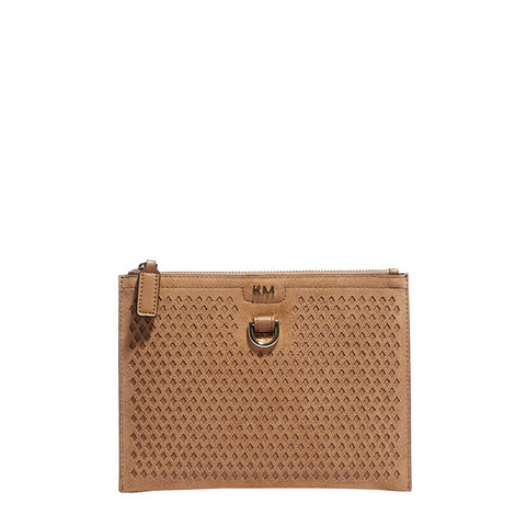 Honeycomb Pouch Clutch, ${color}