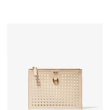 Perforated Pochette Bag