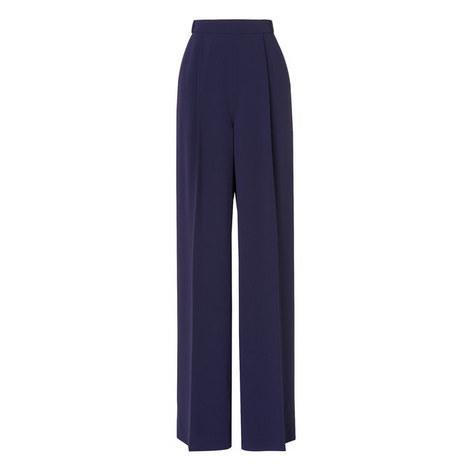 Anthea Fluid Crepe Trousers, ${color}