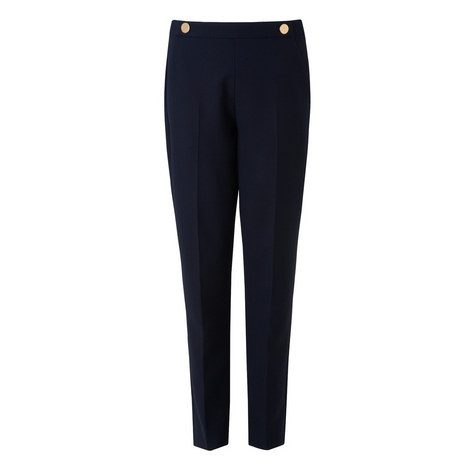 Bayna Buttoned Trousers, ${color}
