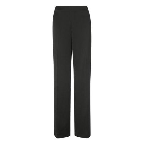 Delaux Wide Leg Trousers, ${color}