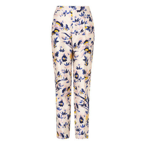 Ine Silk Trousers, ${color}
