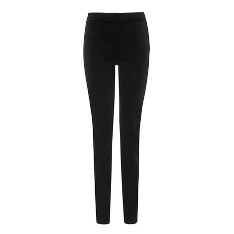 Velvet Stretch Trousers, ${color}