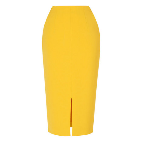 Codie High-Waisted Pencil Skirt, ${color}