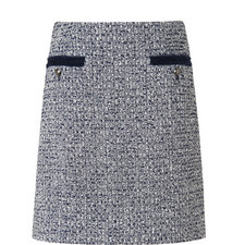 Astrala Tweed A-Line Skirt