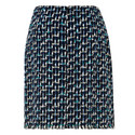 Vetti Tweed Wrap Skirt, ${color}