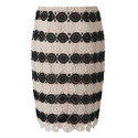 Claudine Crochet Fitted Skirt, ${color}