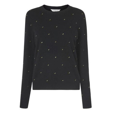 Savannah Embellished Sweater, ${color}